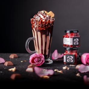Rózsa Zselé és Belga Csokoládé