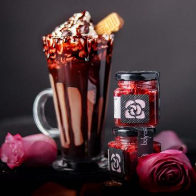 Rózsa Desszert - rózsa zselé és belga csokoládé-7