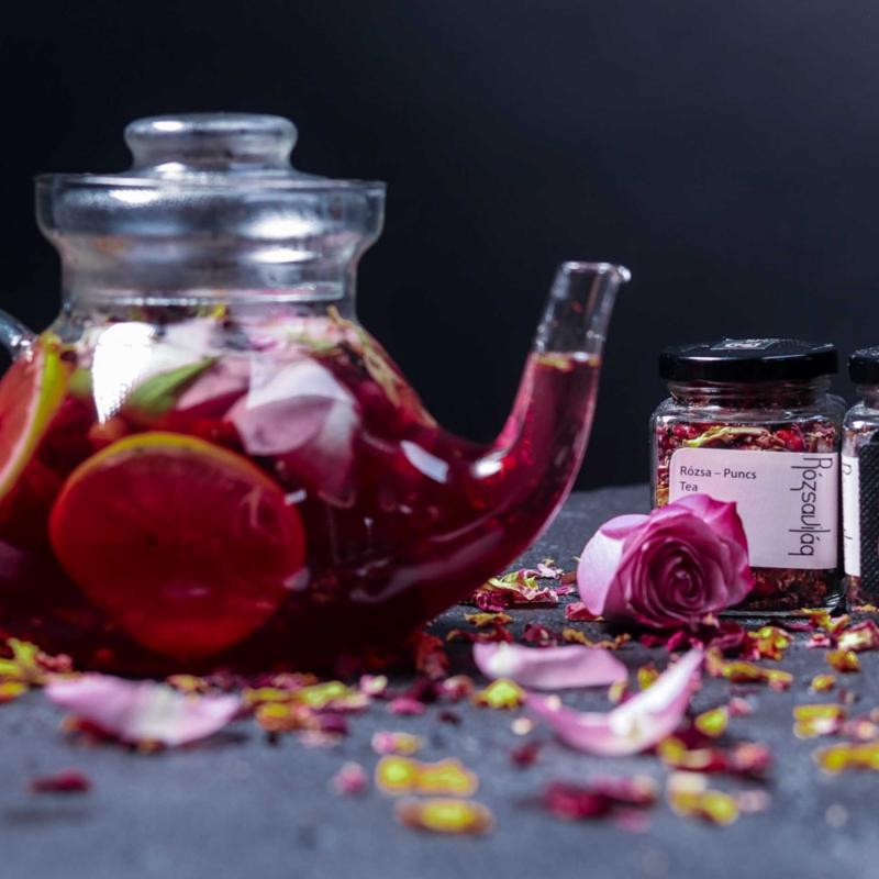 Szálas Teakeverék Rózsa – Puncs-2