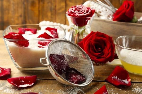 rózsás ízek a tányéron