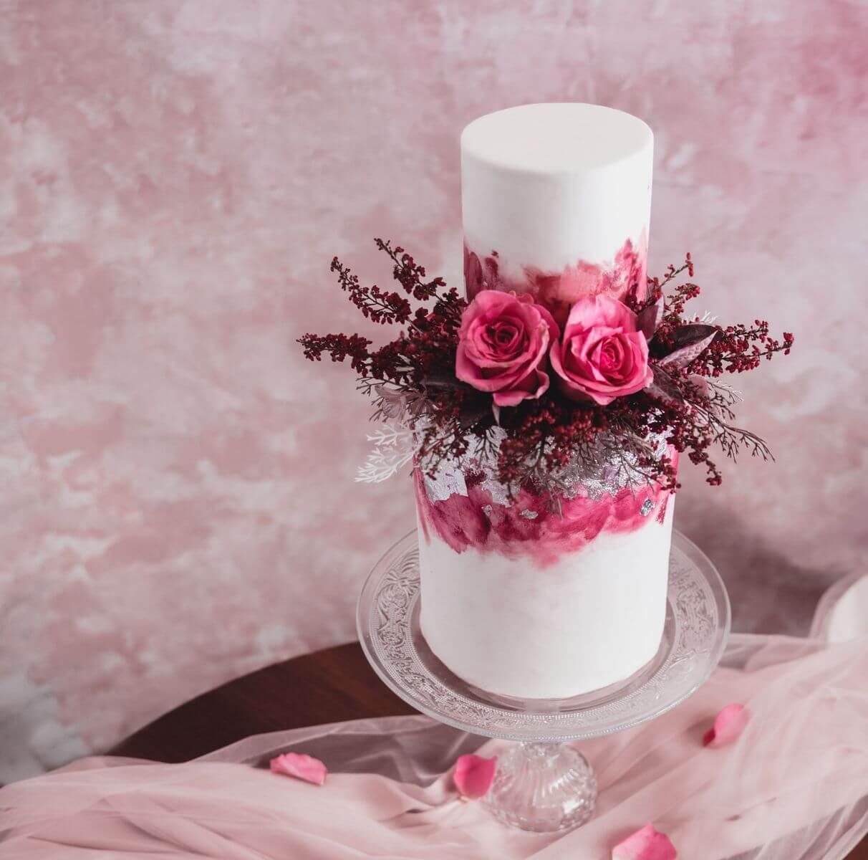 esküvői torta rózsavilág